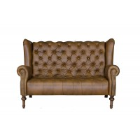 Theo Leather 2 Seater Sofa
