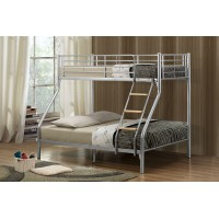 Nexus Silver Triple Sleeper Bunk