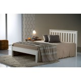 Denver Ivory Double Bed