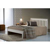 Denver Ivory King Size Bed