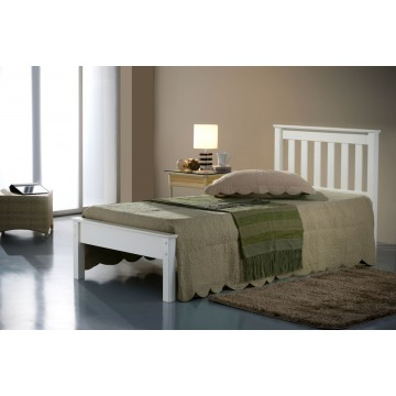 Denver Ivory Single Bed