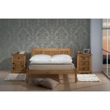 Rio Double Pine Bed