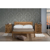 Rio Small Double Pine Bed