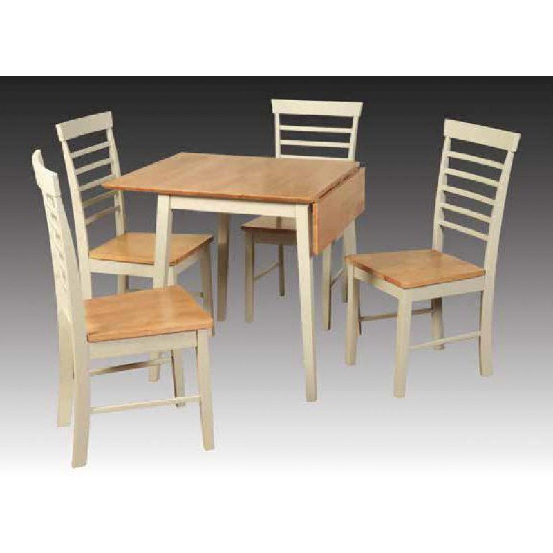 Grampian Furnishers Berlin Square Drop Leaf Dining Table Buy Online