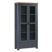 Treviso Midnight Display Cabinet