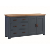 Treviso Midnight Large 2 Door Sideboard
