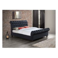 Castello Charcoal Double Bed Frame