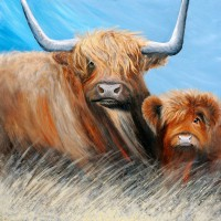 Horny Coo Art - Connie and Mable