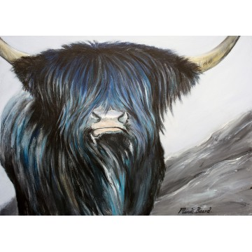 Horny Coo Art - Winter Blues