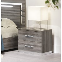 Beverly 2 Drawer Bedside