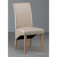 Henley Ivory Faux Leather Dining Chair
