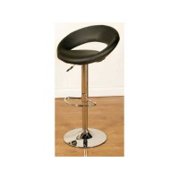 Eclipse Black Bar Stool