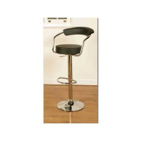 Saturn Black Bar Stool
