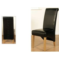 Rocco Dining Chair Black