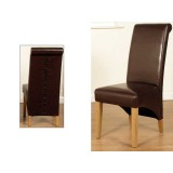 Rocco Dining Chair Brown