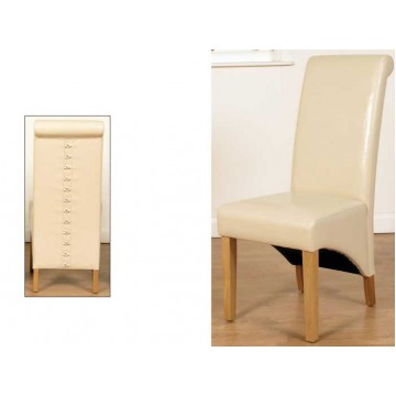 Rocco Dining Chair Ivory