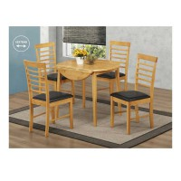 Hanover Round Drop Leaf Set (2chairs)