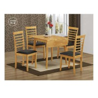 Hanover Square Drop Leaf Set (4chairs)