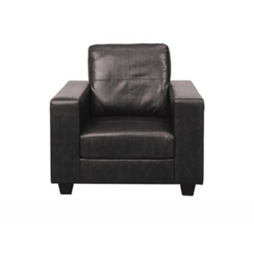 Queensbury Black Sofa Armchair
