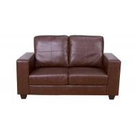 Queensbury Brown 2 Seater Sofa