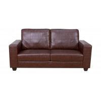 Queensbury Brown 3 Seater Sofa